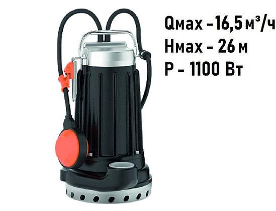 Pedrollo DCm 30-N погружной дренажный насос для дренажа грязной воды