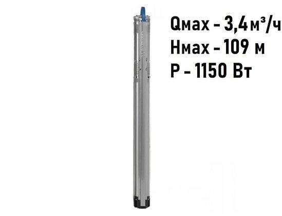 Насос скважинный с частотным регулированием Grundfos SQE 2-85 арт. 96510153