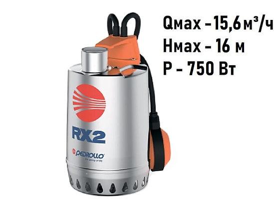 Pedrollo RX 4 погружной дренажный насос для дренажа грязной воды