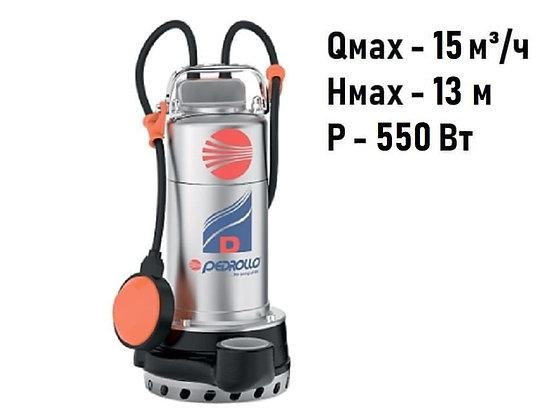Pedrollo Dm 8-N погружной дренажный насос для дренажа грязной воды