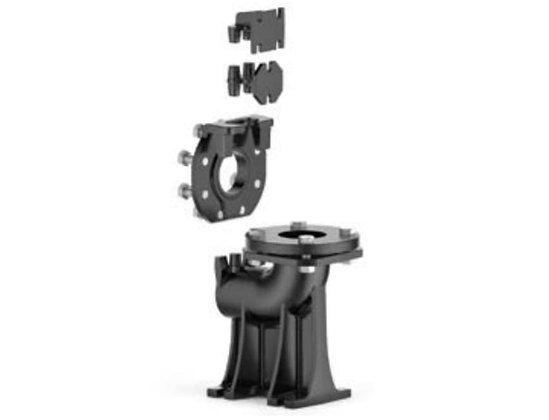 """Опорное колено для Pedrollo VX/50 2,5"""" вертикальное исполнение"""