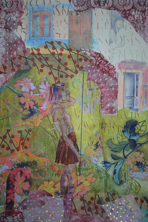 "Doorways Into the Past - print 16 x 20"""