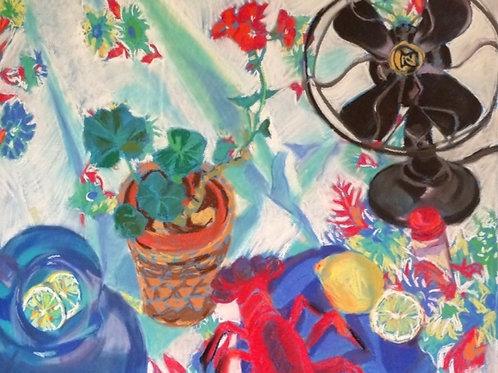 """""""Summer Still Life""""--Original Pastel 18 x 24"""""""
