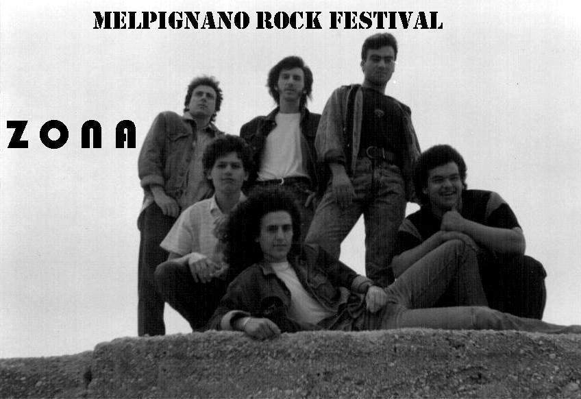Zona Festival di  Melpignano 1987