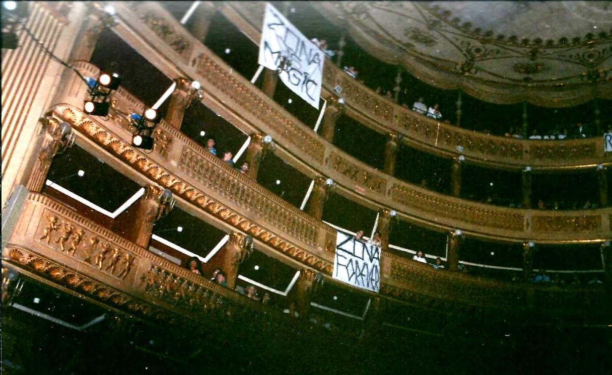 Zona, Teatro Piccinni 1987