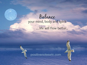 Balance and Flow