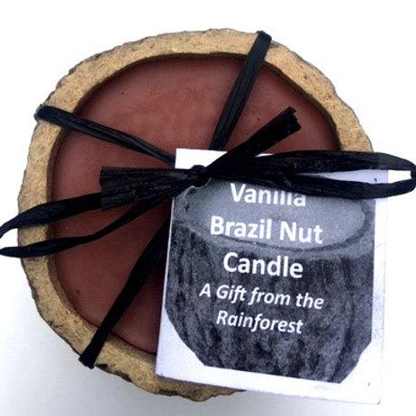 Brazil Nut Candle (Vanilla)