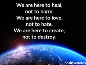 Healing the World