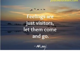 Feelings are Visitors