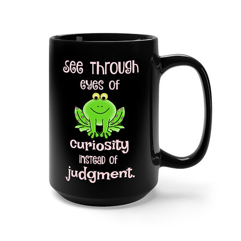 Curiosity vs Judgement