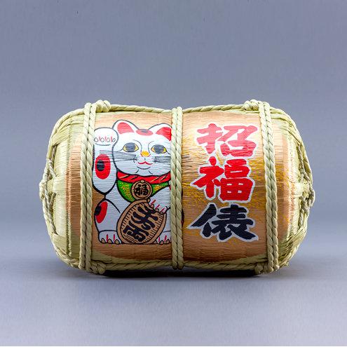 Beckoning cat Fukudawara (Rice case)