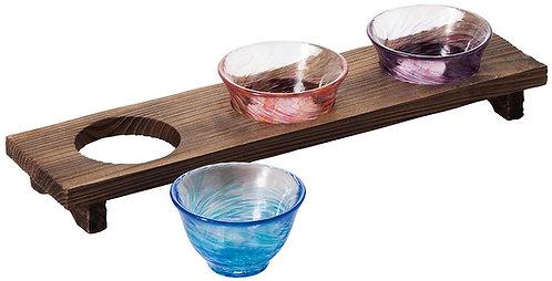 Kikisake set ( Drinking comparison ) / Japanese sake glass set