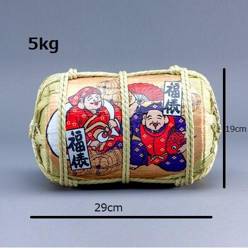 Ebetsu-san, Daikoku-san Fukudawara (Rice case)