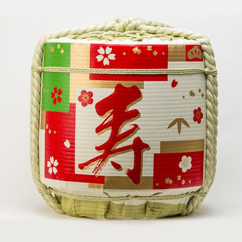 Empty Sake Barrel ⑯ Sanga-Kotobuki