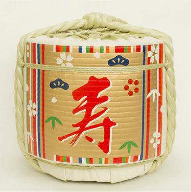 Empty Sake Barrel ⑥Goshoku-Takijima(celebration)