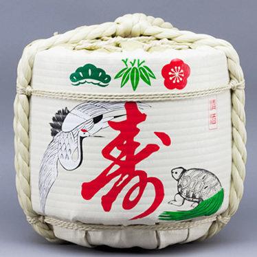 Empty Sake Barrel ⑭Kotobuki (tsuru kame)