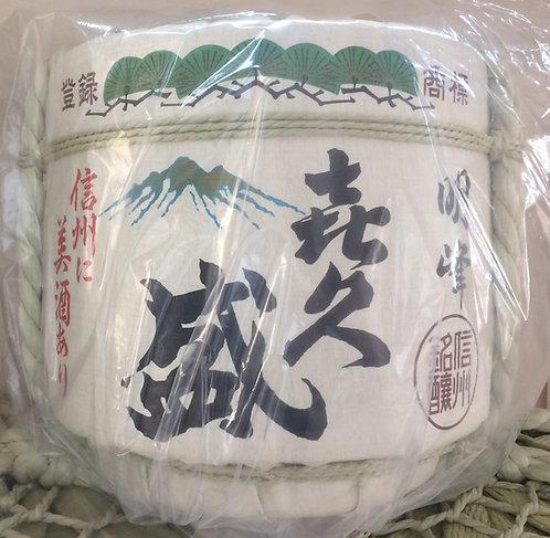 Empty Sake Barrel Shinshu meijo ( Kikusakari )
