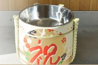 Kagami wari Set ( Inside stainless barrel )