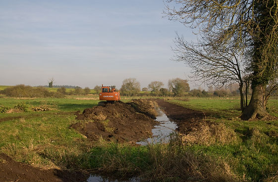 Scarfe Meadows - Ditching 13-11-2011 @ A