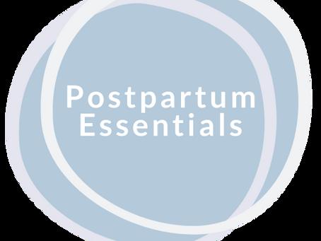 Exciting News: Your Postpartum Essentials Program