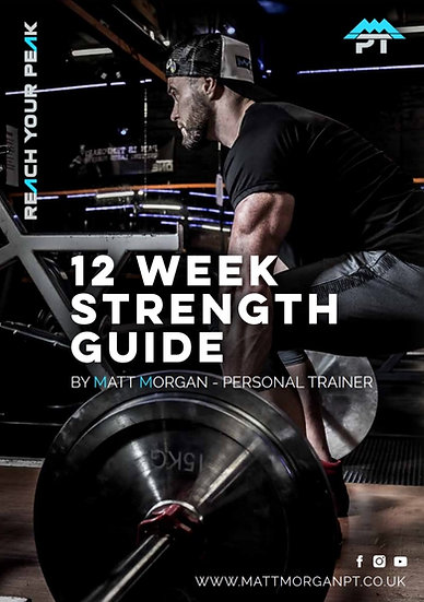 12 WEEK STRENGTH PROGRAMME