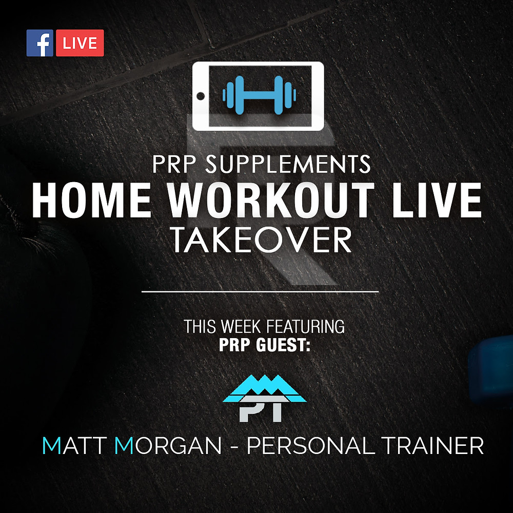 LIVE 20 minute home workout