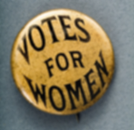 votes for women button gold.png