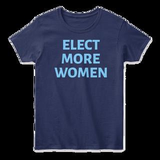 Elect More Women: Blue