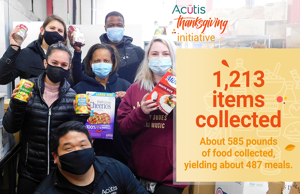 Acutis finds a new way to support their local community