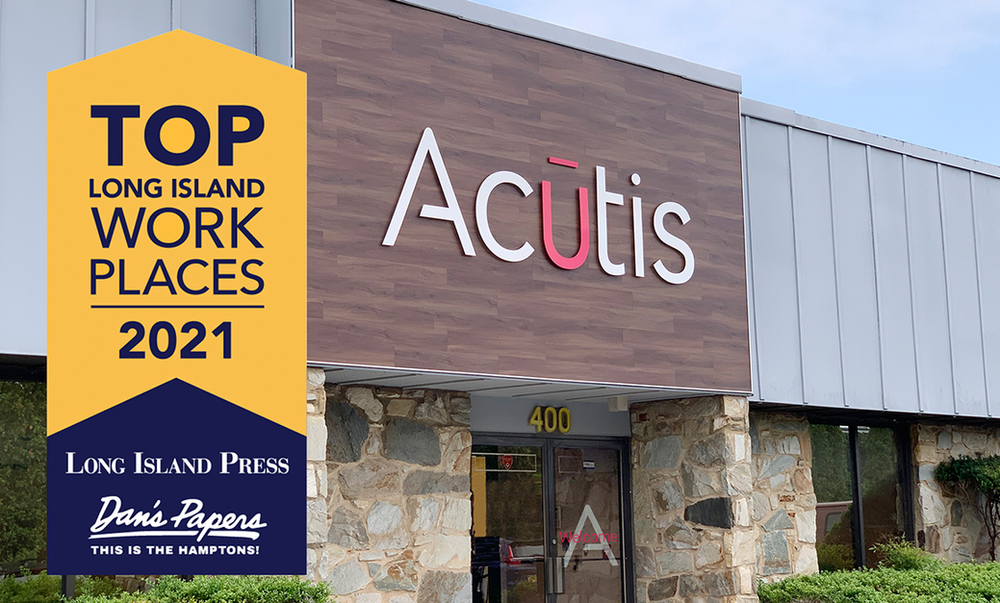 Acutis awarded 2021 Long Island Top Workplaces