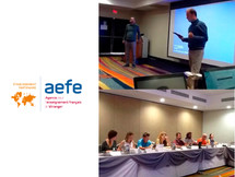 Capacitación TIC's dictado por la AEFE