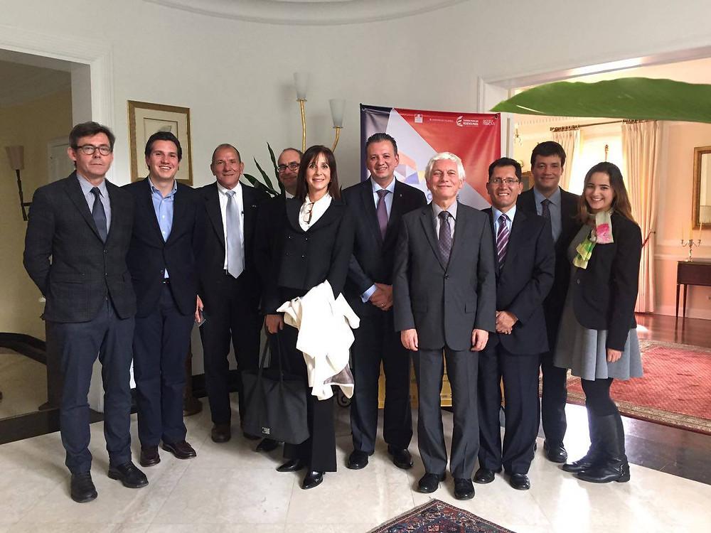 Almuerzo con el Señor Embajador de Francia - marzo de 2017