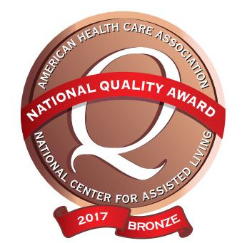 Blue Ridge In Brookview House Earns 2017 Bronze National Quality Award