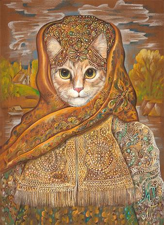 KATYA THE CAT