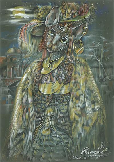Sphynx under the Moon, 2001
