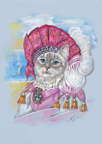 THE CAT ROMANTIQUE