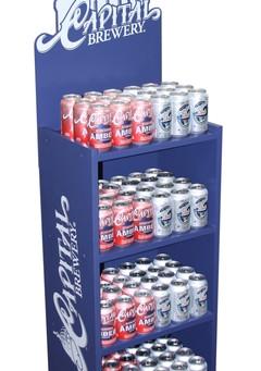 Capital Brewery P.O.P. Retail Display