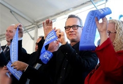 Tom Hanks Ribbon-Cutting at Wright State University