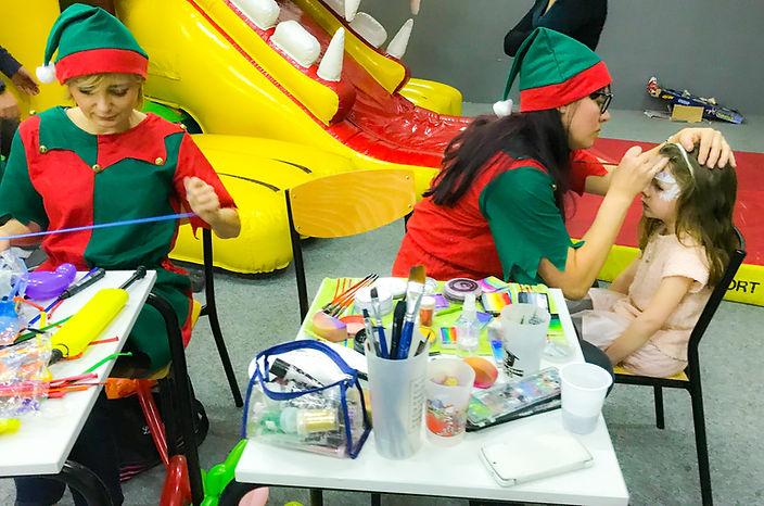 Maquillages artistiques enfants et sculptures sur ballons