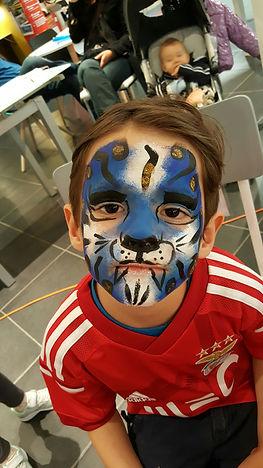 Maquillage artistique enfants