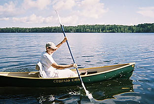 Pauline in her Comapss kayak.jpeg