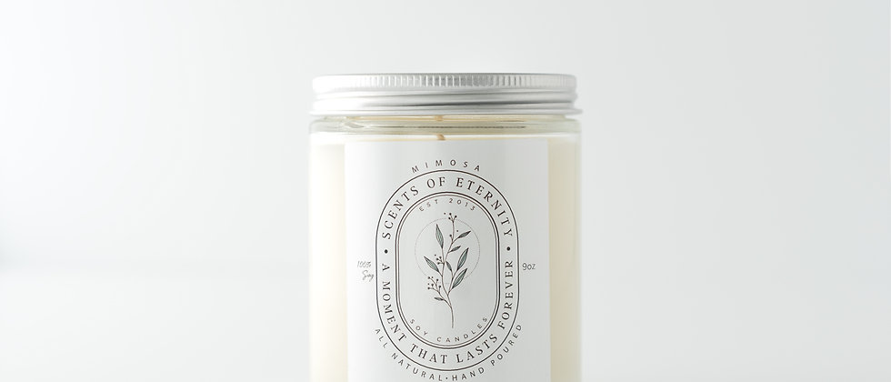 Mimosa Soy Candle