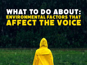 Environmental Factors that affect the Voice