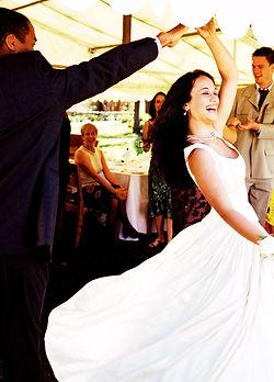 First dance - chateau wedding near Sarlat