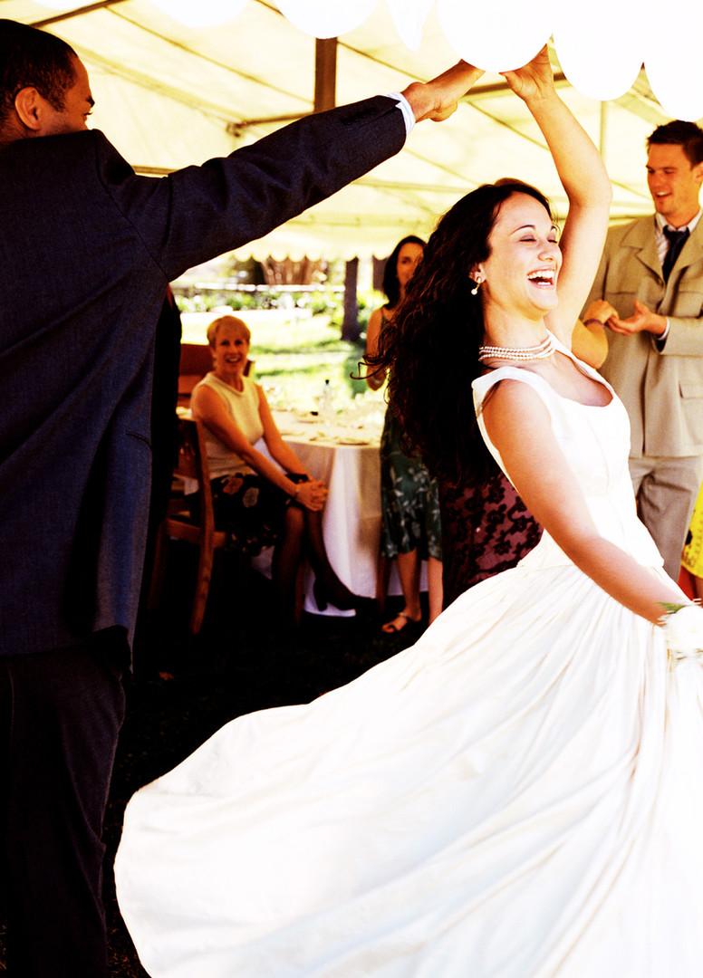 Twirling Bride