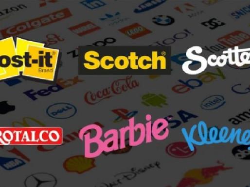 Quando un marchio diventa una parola comune