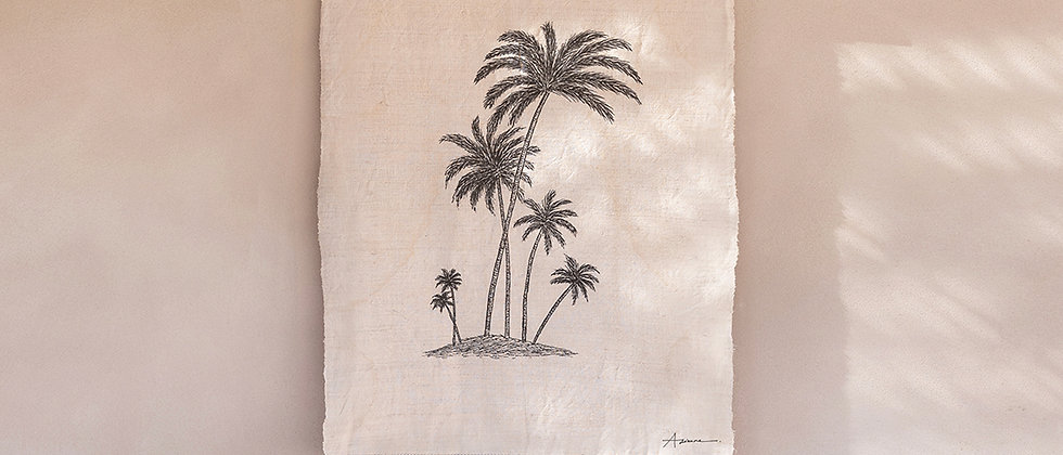 Island of Six Palms Wall Hanging
