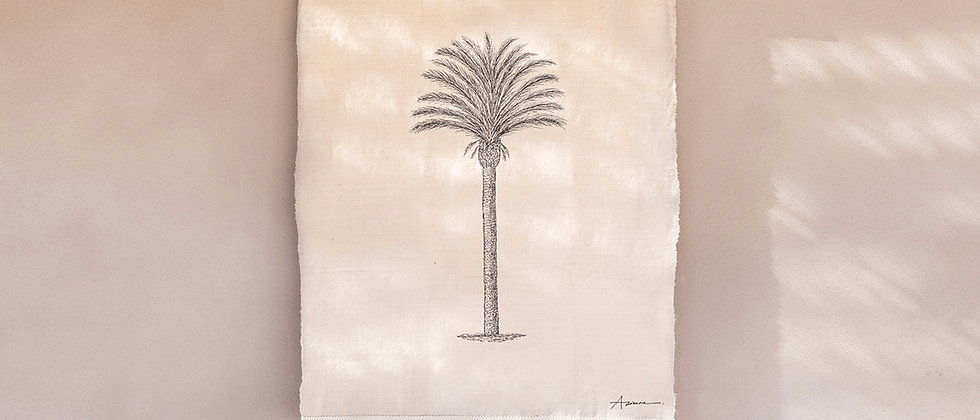 Moroccan Palm Wall Hanging