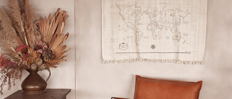 Pre-Order Large World Atlas Wall Hanging