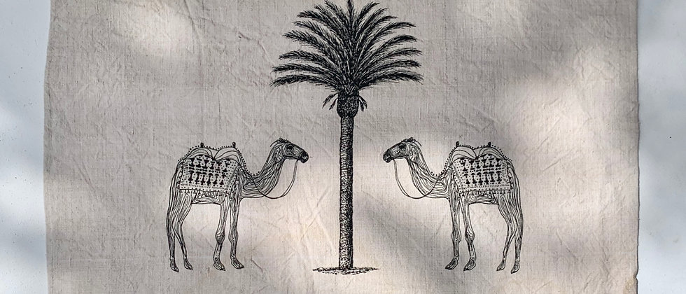 Camels of Agadir Wall Hanging 1